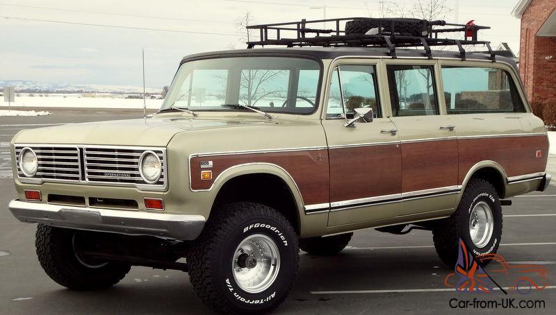 1973 International Travelall 1110 4x4 Woody Automatic 392 V8 A C Loaded 89k