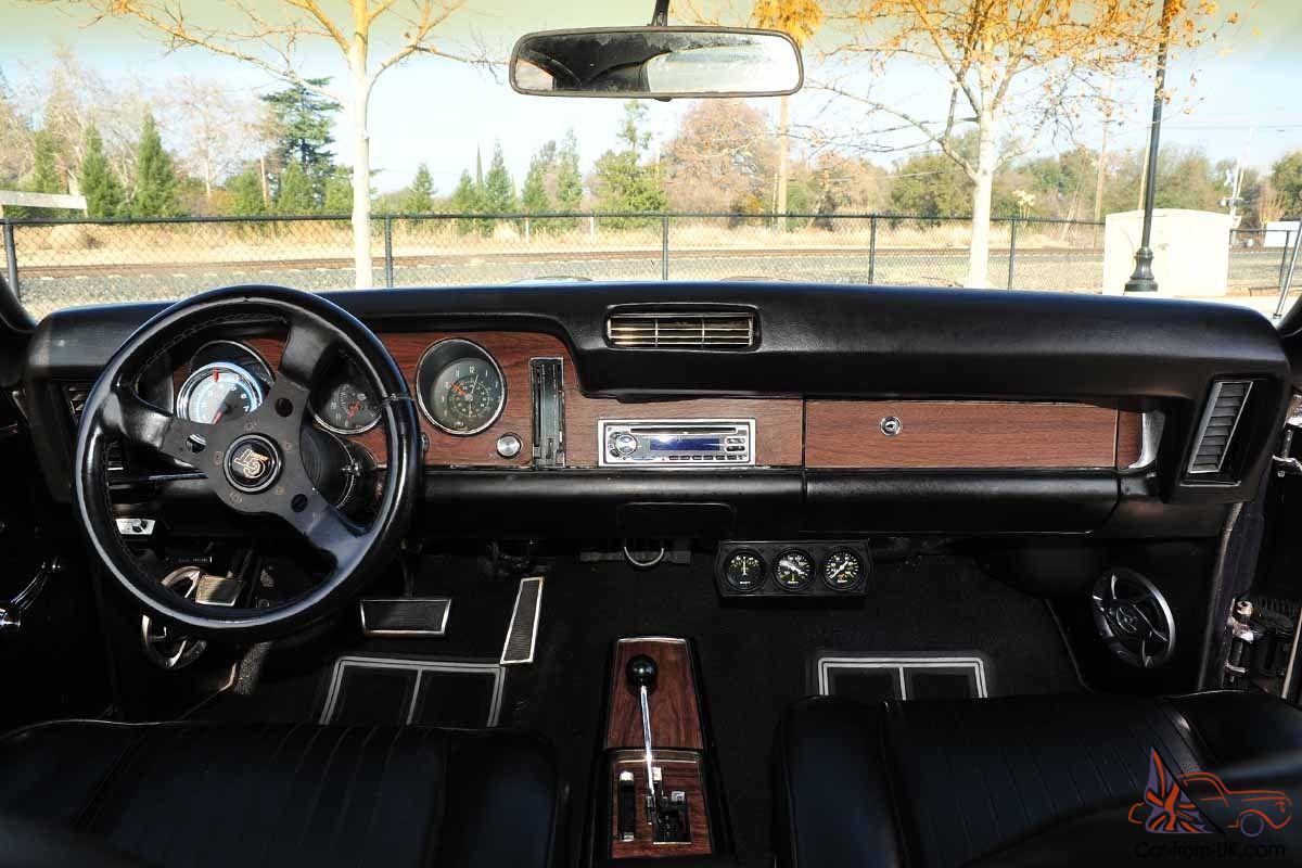 1968 Pontiac GTO 2 Door Hardtop 400/400 12 Bolt Posi PS PDB Hideaway  Headlights