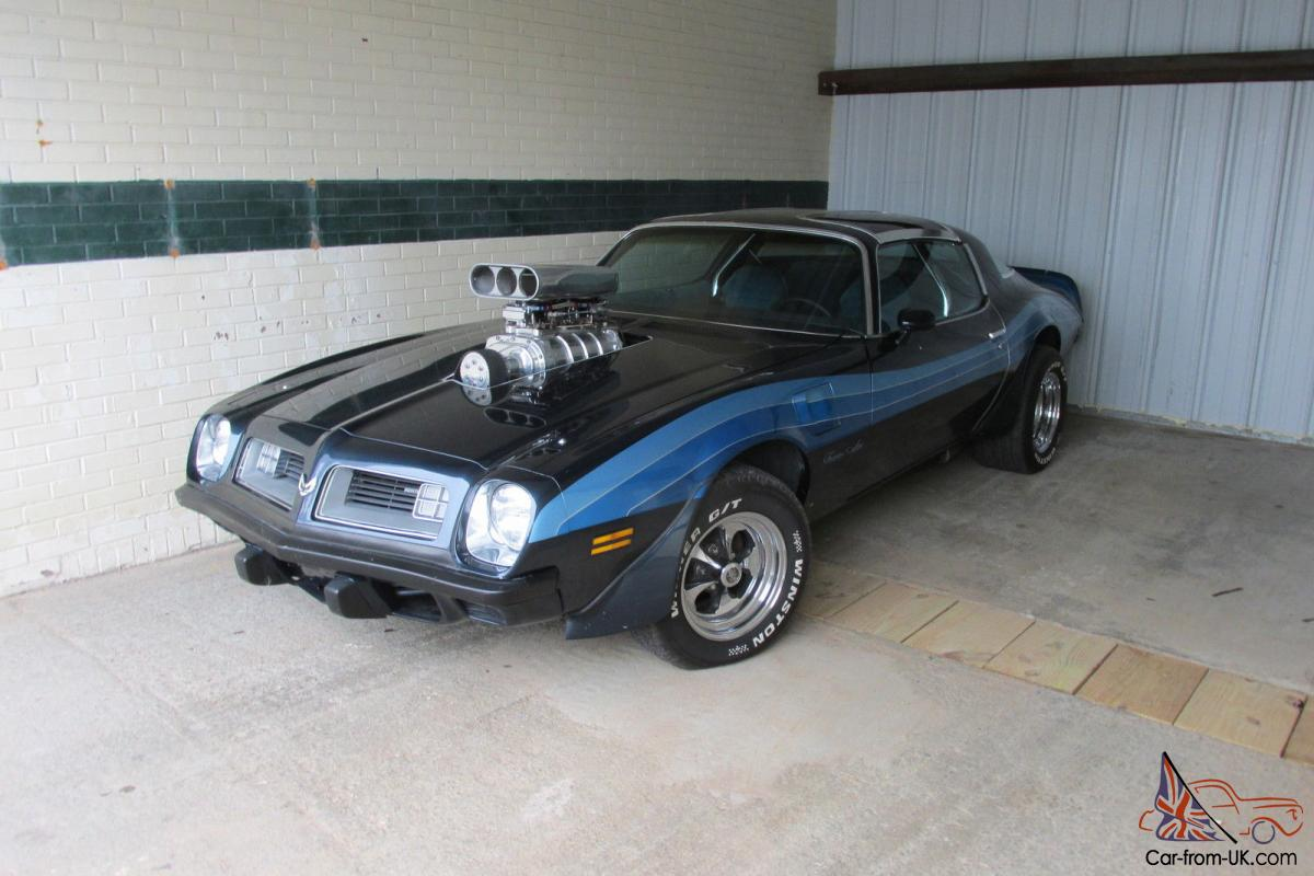 1975 Trans Am 455 Supercharged Muscle Car Pontiac