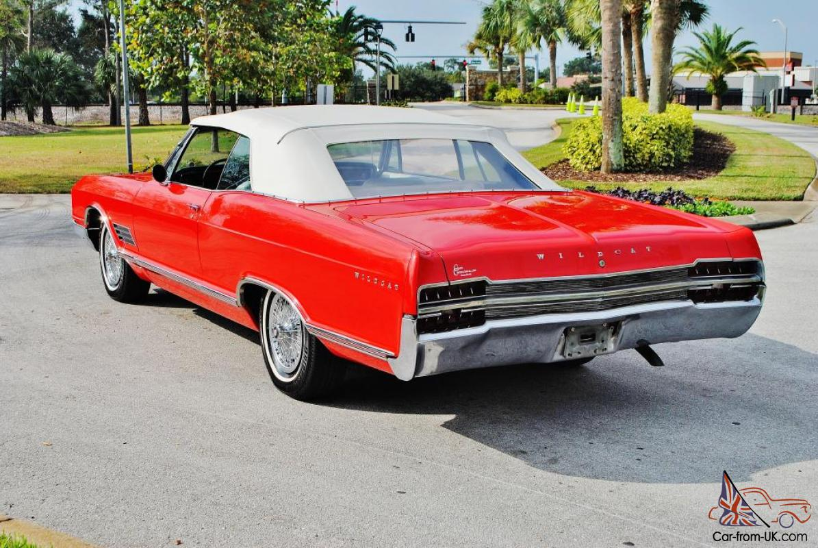 Simply beautiful loaded 1966 Buick Wildcat Convertible nailhead a/c  red/white