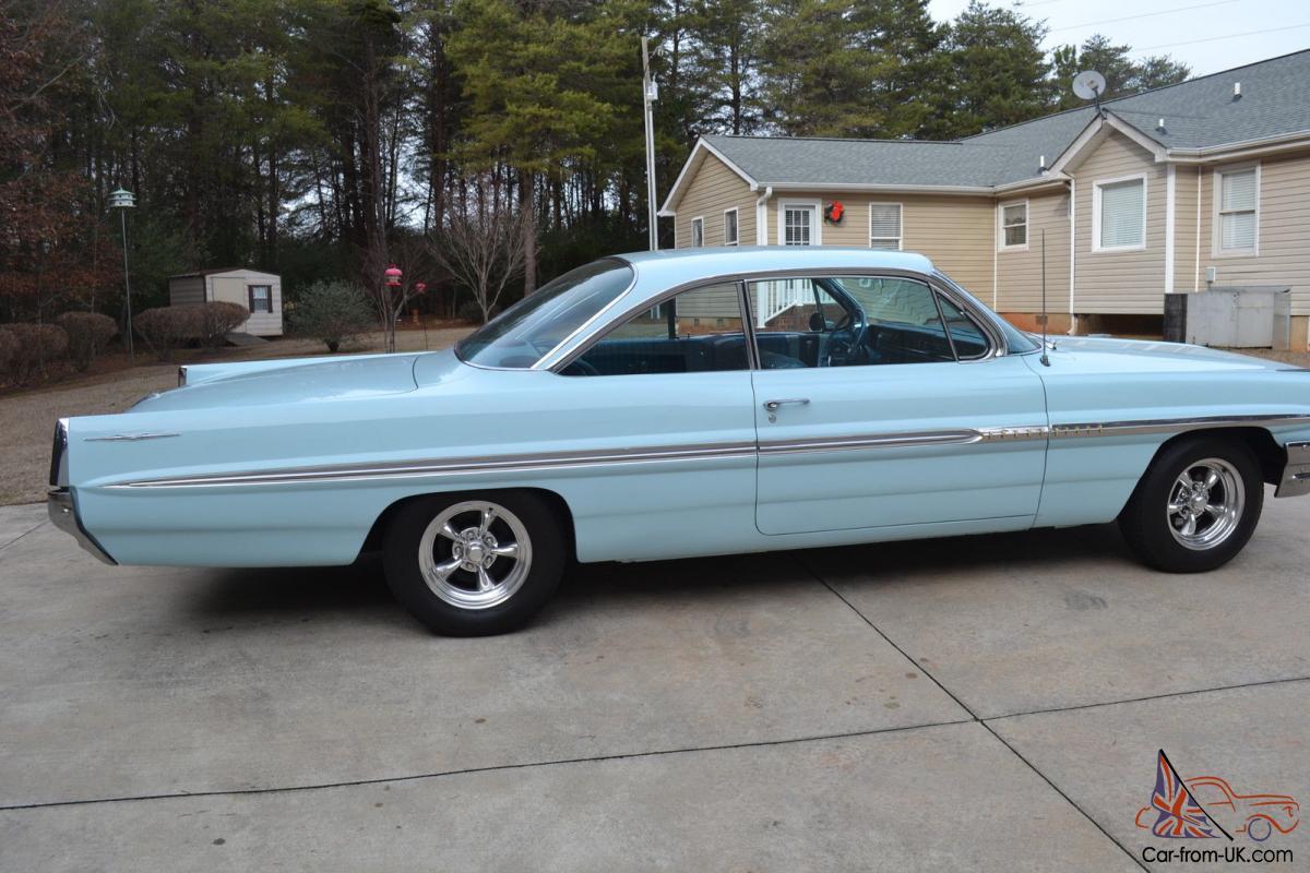 1961 Pontiac Bonneville 2 door bubble top not Impala Hot rod Catalina  Ventura 61