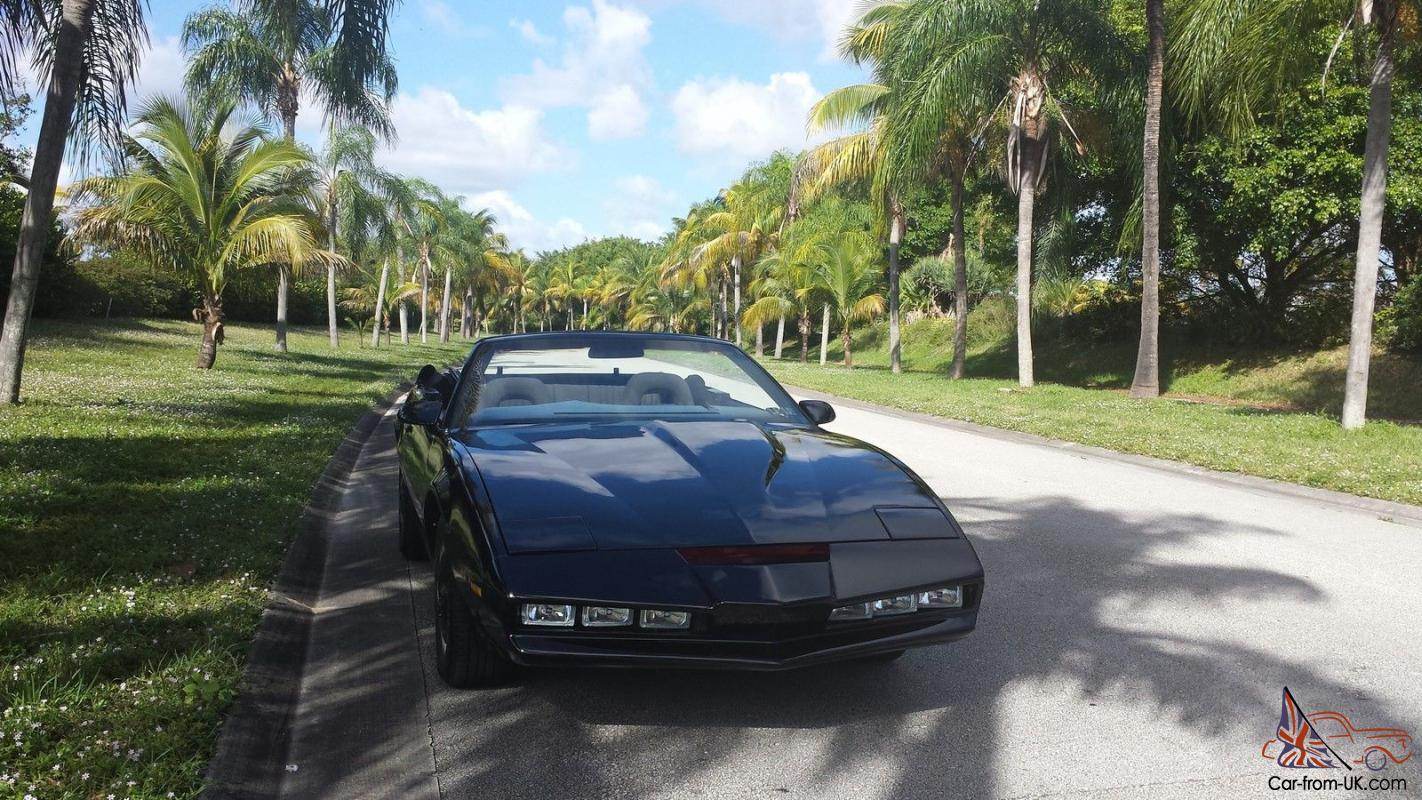 Knight Rider Car For Sale >> Replica Knight Rider Season 4 Kitt Convertible