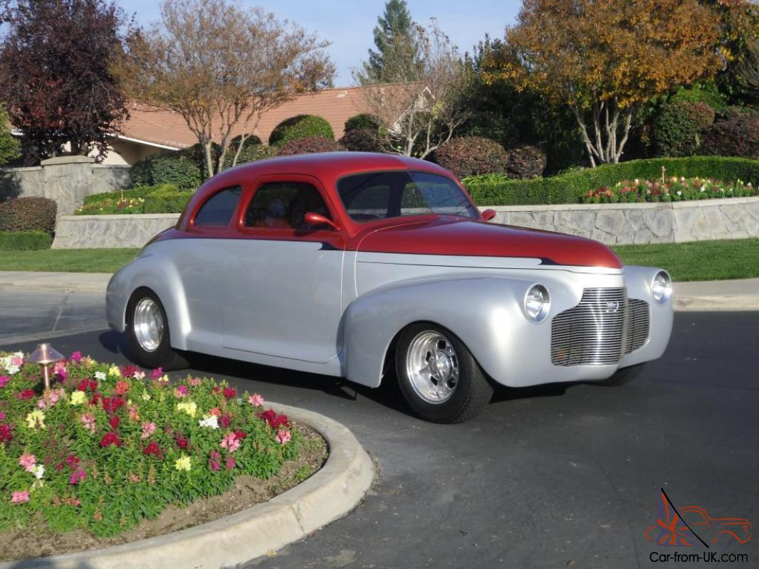 1941 CHEVROLET CUSTOM COUPE ALL STEEL  Frame Off Resto 502 ZZ Motor