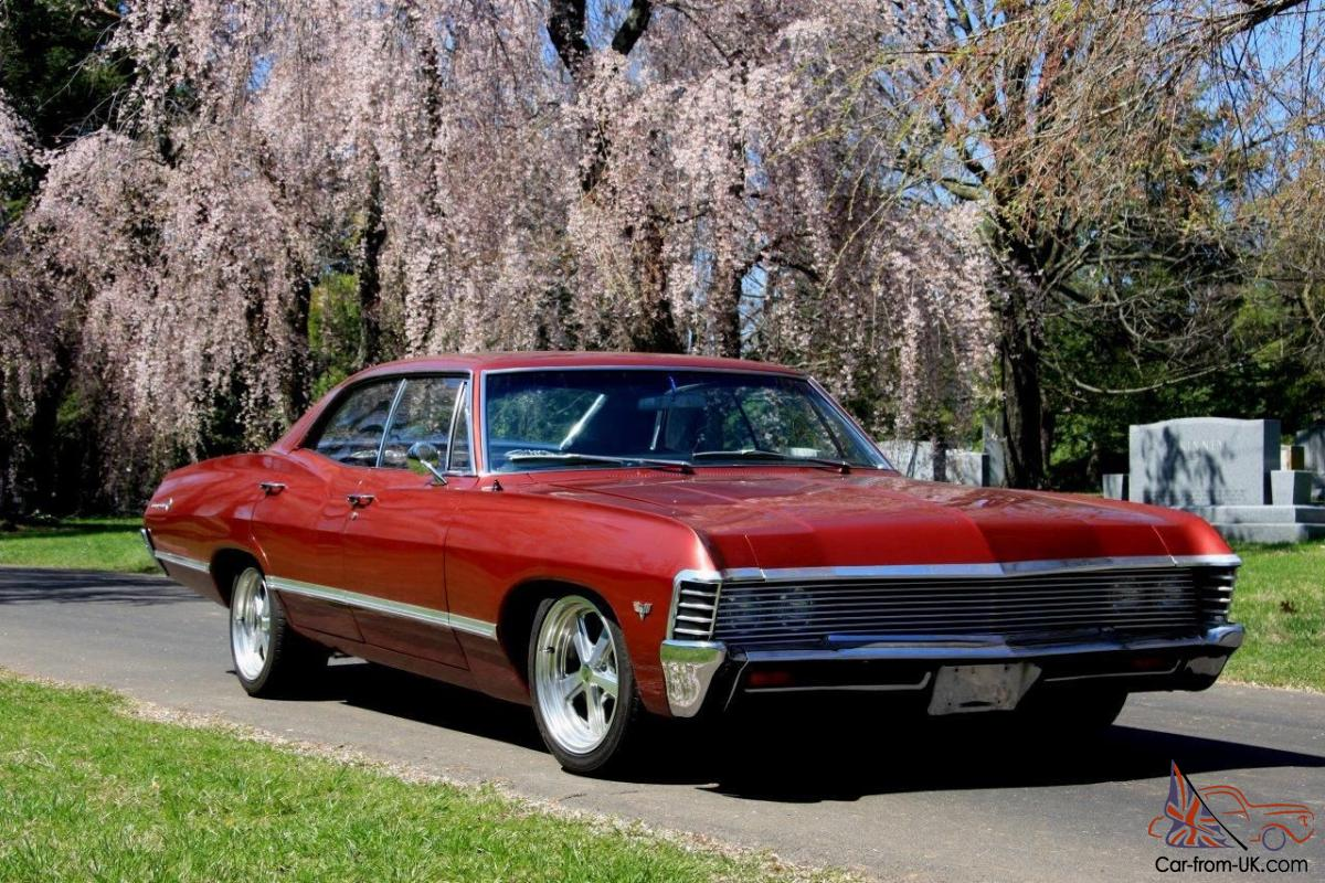 Impala 1967 black chevrolet impala : Chevrolet Impala 4 Door - Supernatural