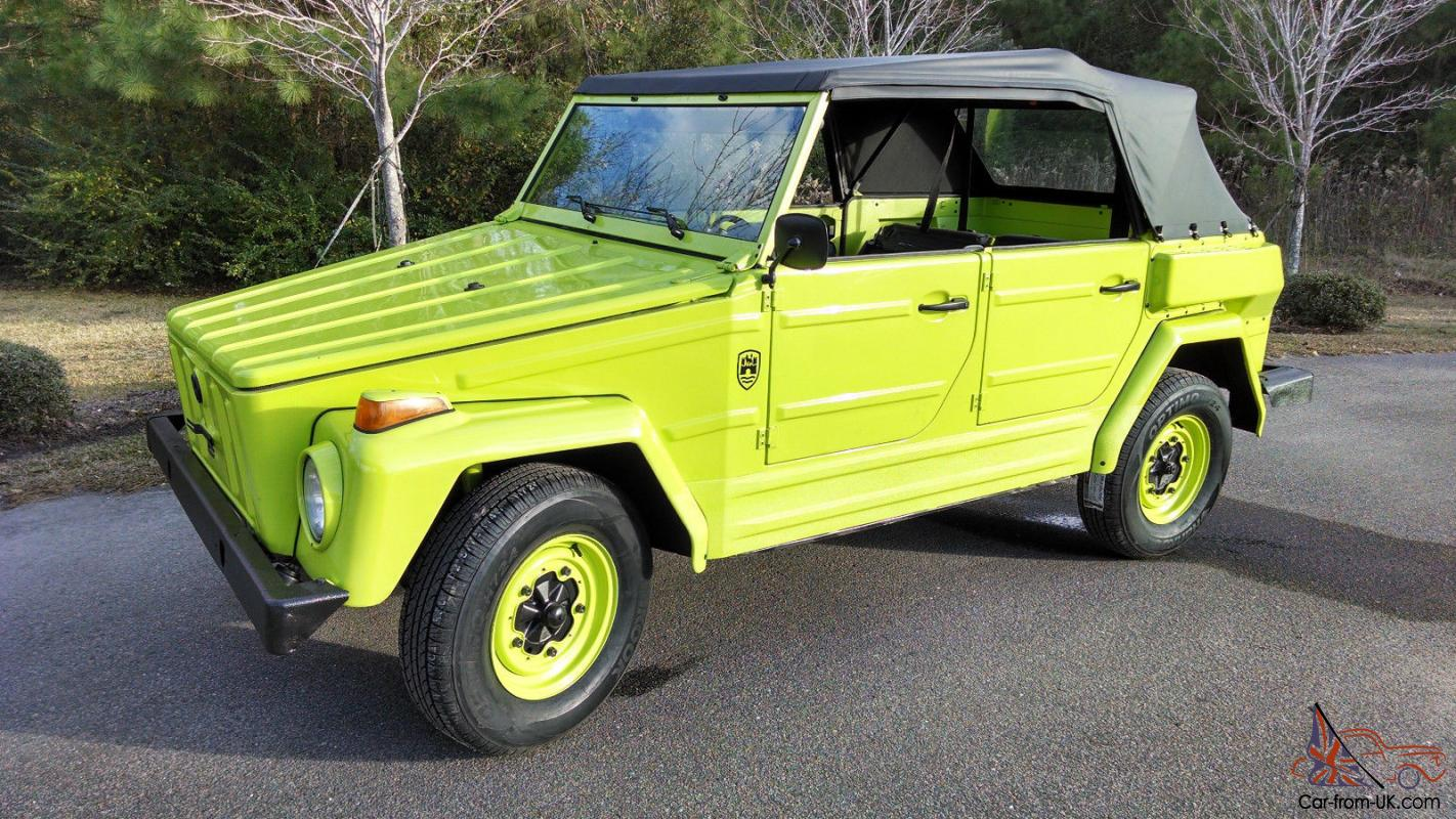 Volkswagen Thing For Sale >> 1974 Vw Thing Trekker Type 181 Body Off Restoration