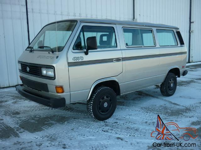 ULTRA CLEAN 1986 Volkswagen VANAGON SYNCRO!! VW 4X4!! Virtually CORROSION  FREE!!