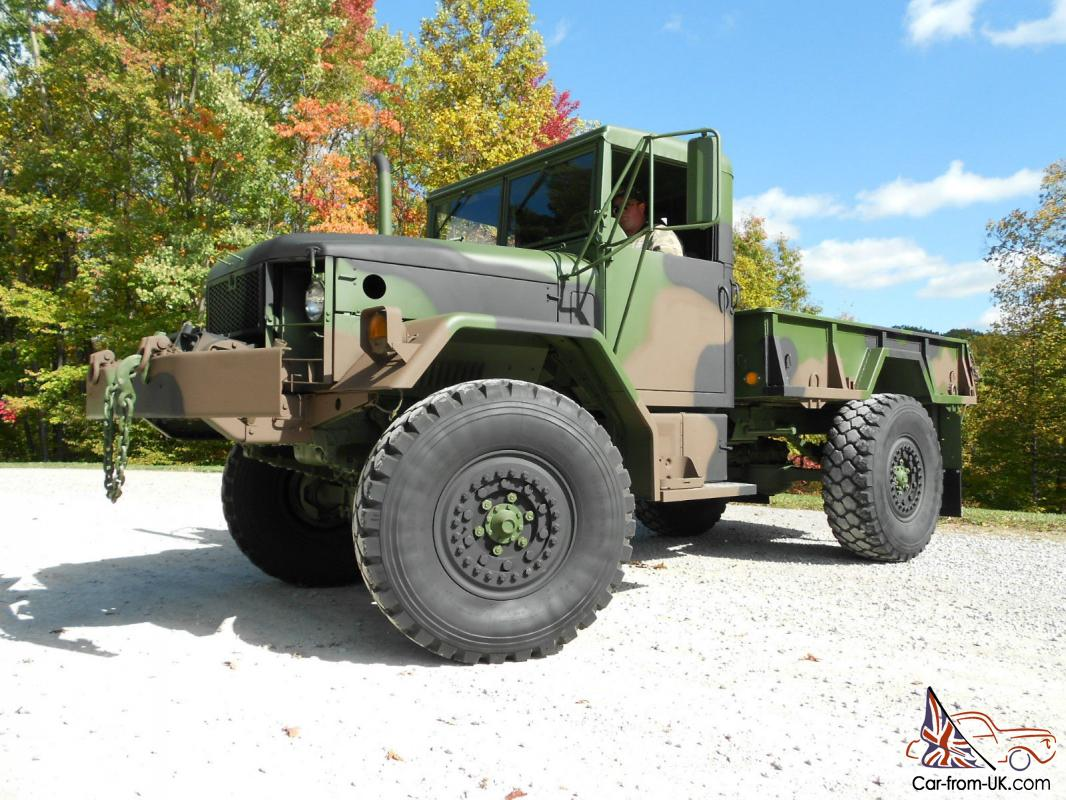 1970/89 Kaiser M35A2 bobbed 2 5 ton truck with Winch and Hard Top