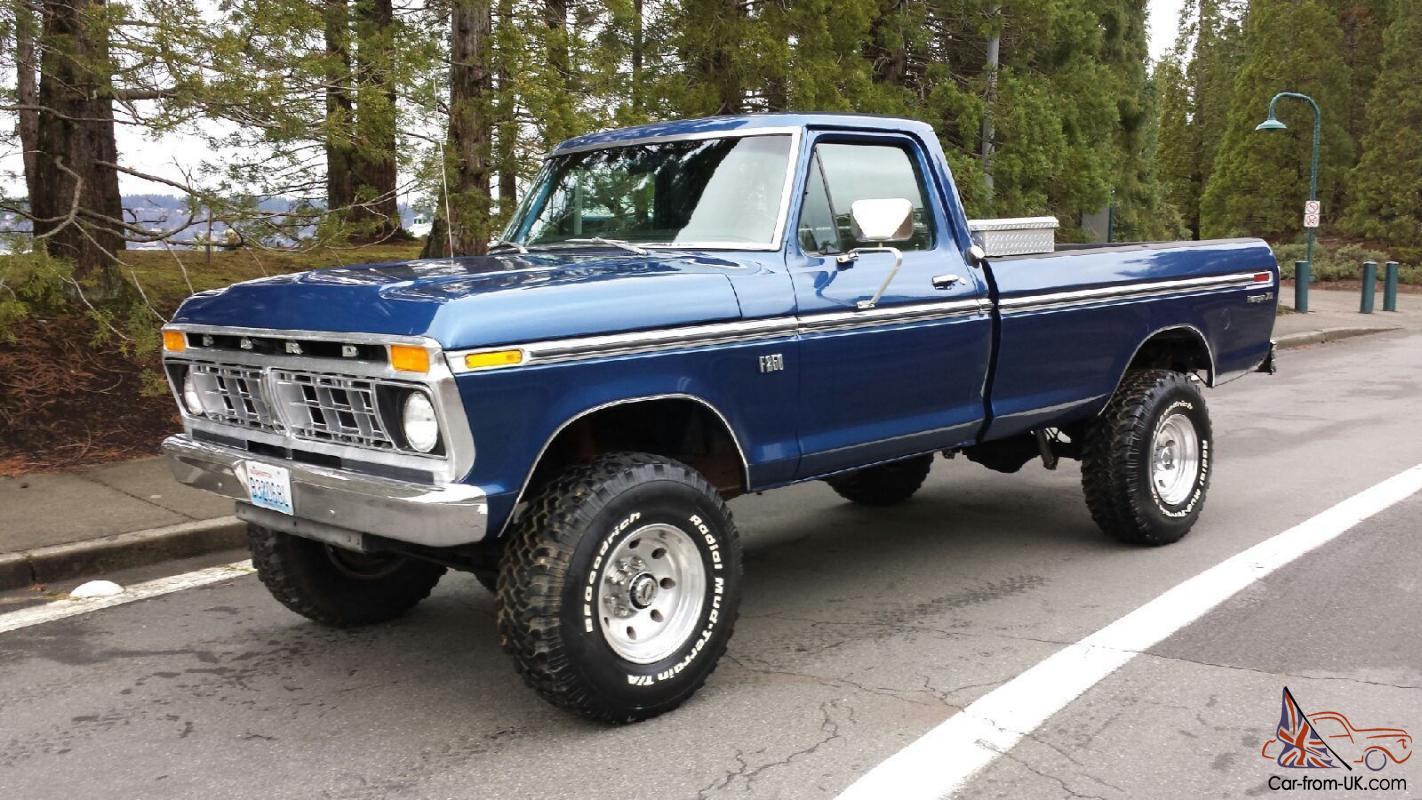 1975 Ford F250 >> 1975 Ford F250 4x4 Highboy 460v8