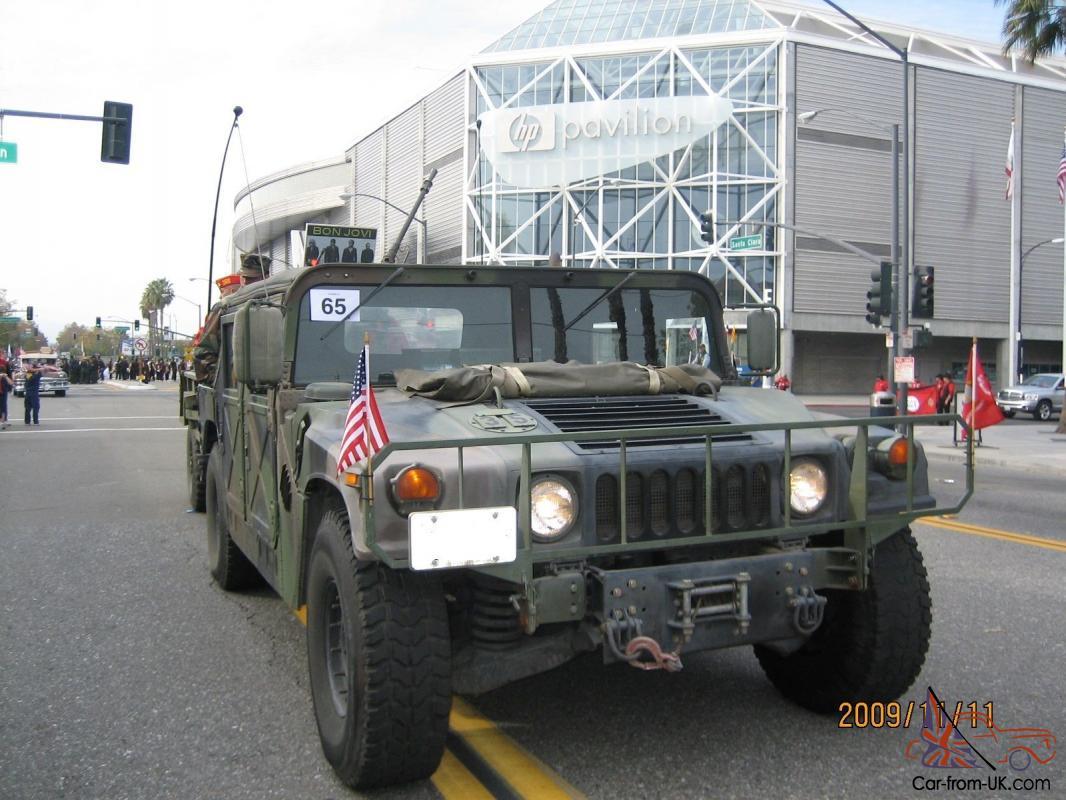 1987 Usmc Hmmwv Humvee Hummer M998