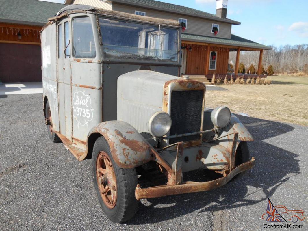 1936 Divco SF Stand and Drive Delivery Milk Truck SUPER RARE Collectible  Must Se