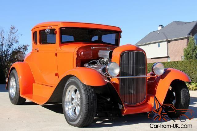 30 Ford Coupe Steel Street Rod Big Block Gorgeous Wow