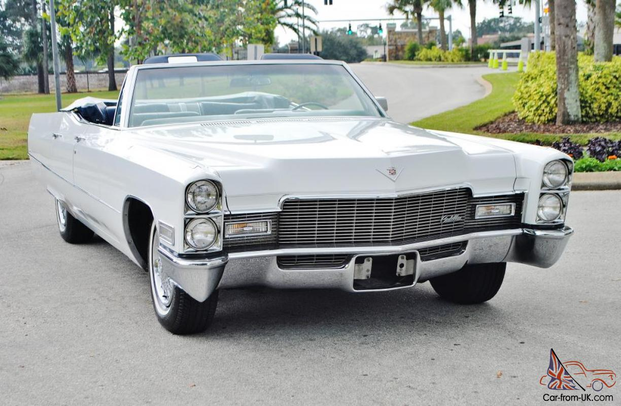 4 Door Convertible >> The Rarest 68 Cadillac 4 Door Deville Convertible You Will Ever See 1of 1 Right