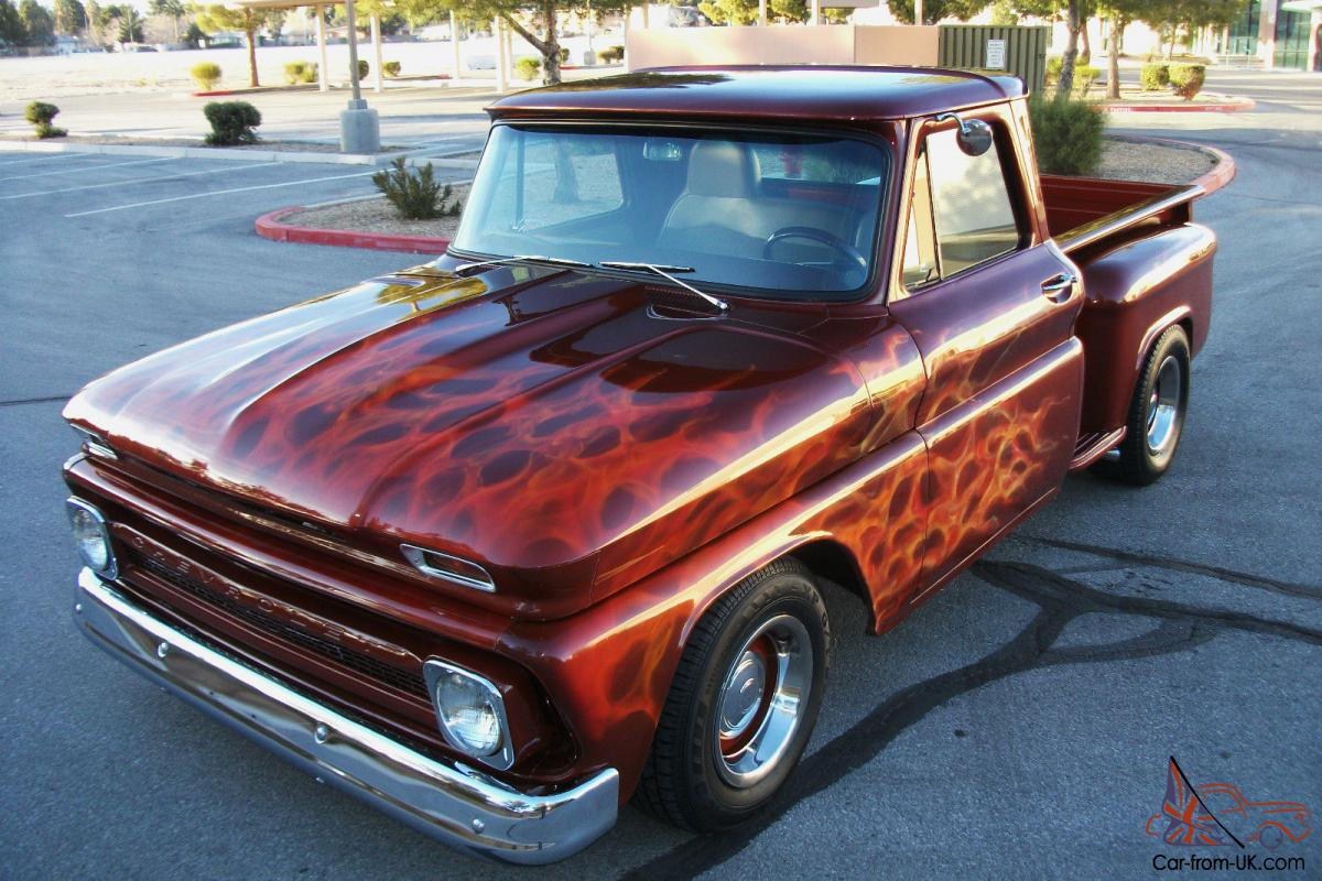 Chevy C10 Short Box RESTORED Show and GO - BIG BLOCK POWER - SEE VIDEO