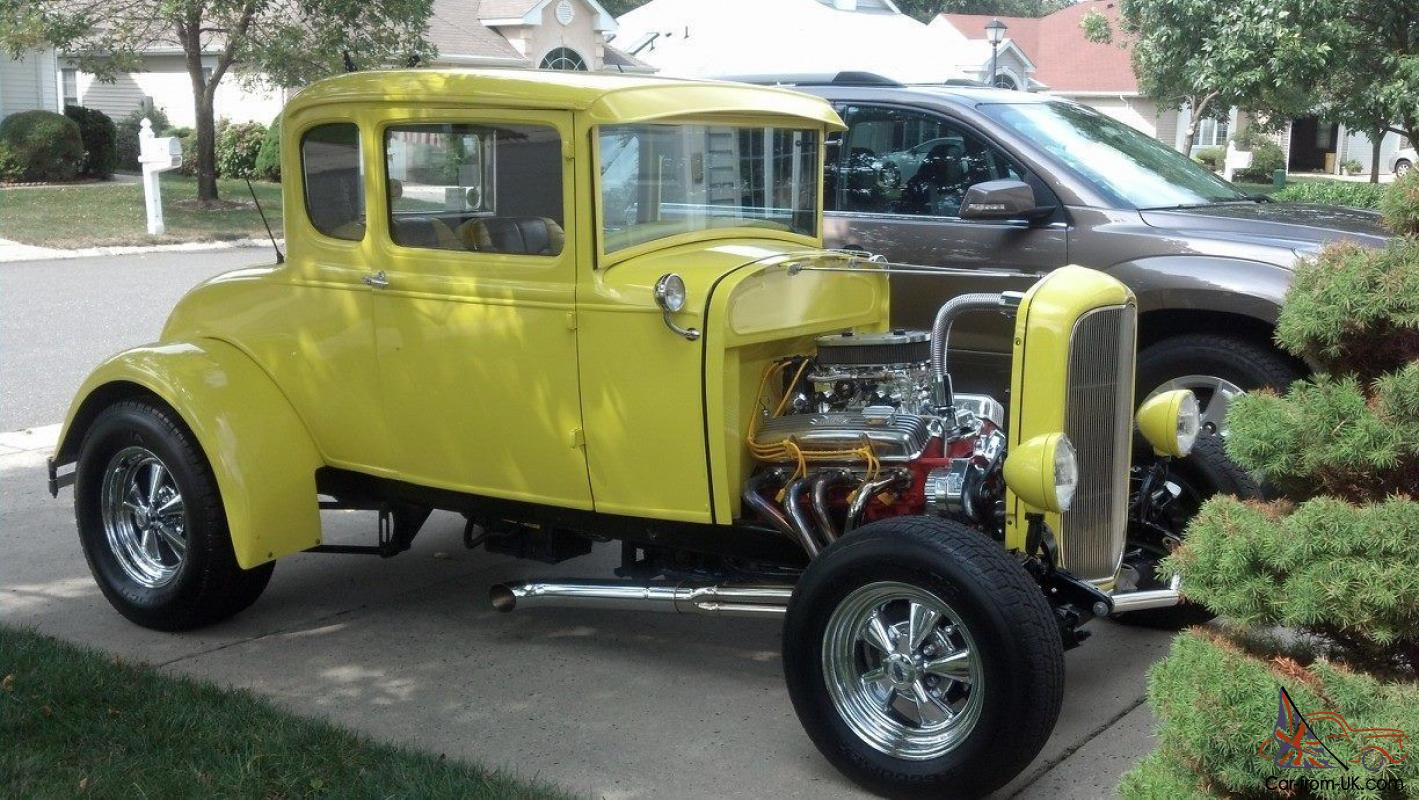 30 Ford 5 Window Coupe With Rumble Seat Hot Rod Original Steel And