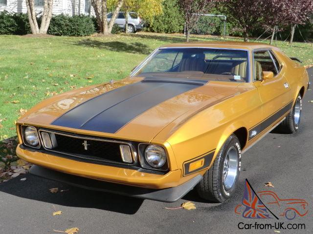 1973 Ford Mustang Grande 351 Cleveland Air Conditioning Numbers Match 33k Miles