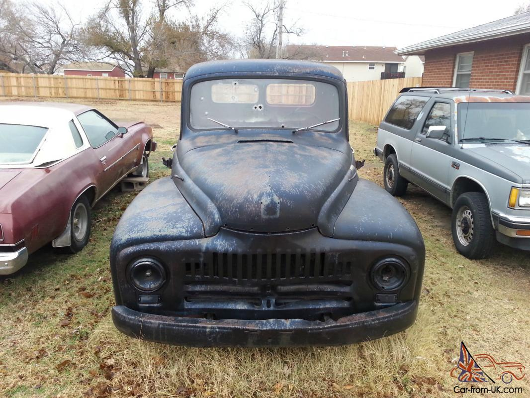 1952 International Pickup, Rat Rod Project