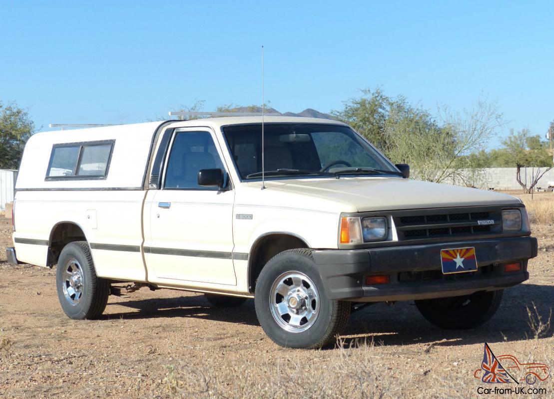 1987 Mazda B2000 Lx Standard Cab Pickup 2 Door 2 0l