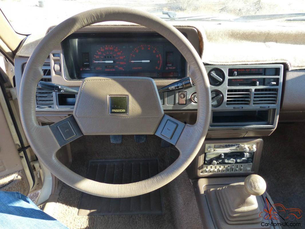 1987 Mazda B2000 Lx Standard Cab Pickup 2