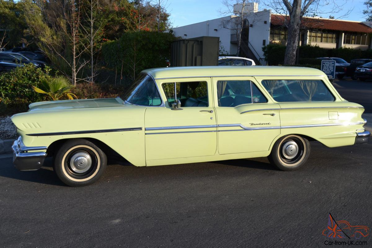 Chevrolet Station Wagon Great original two-owner California car
