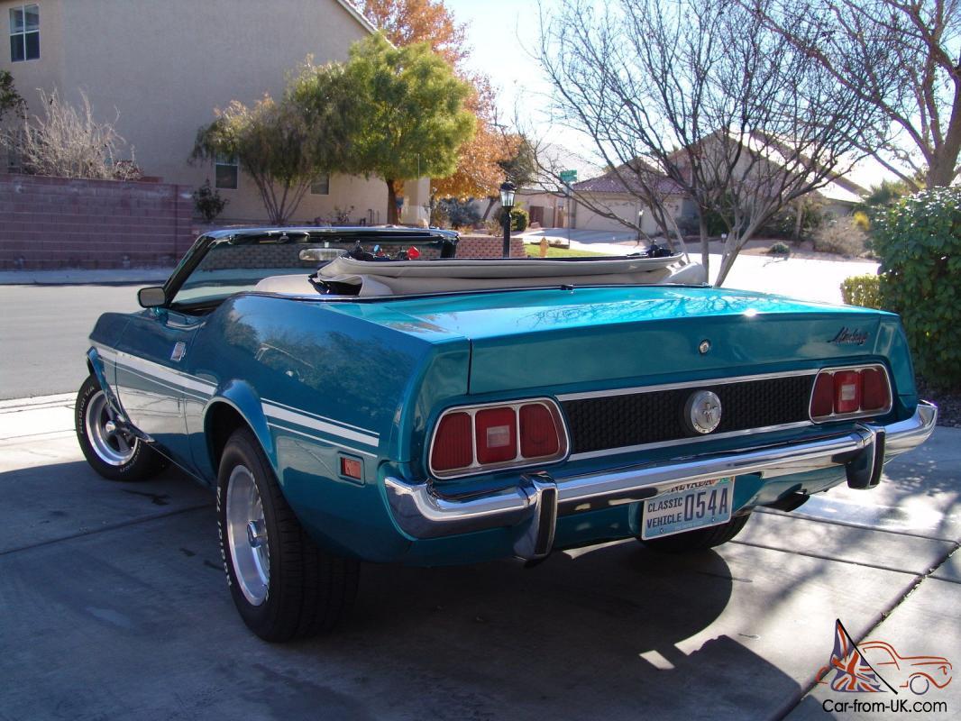 1973 Ford Mustang Convertible Beatifully Restored