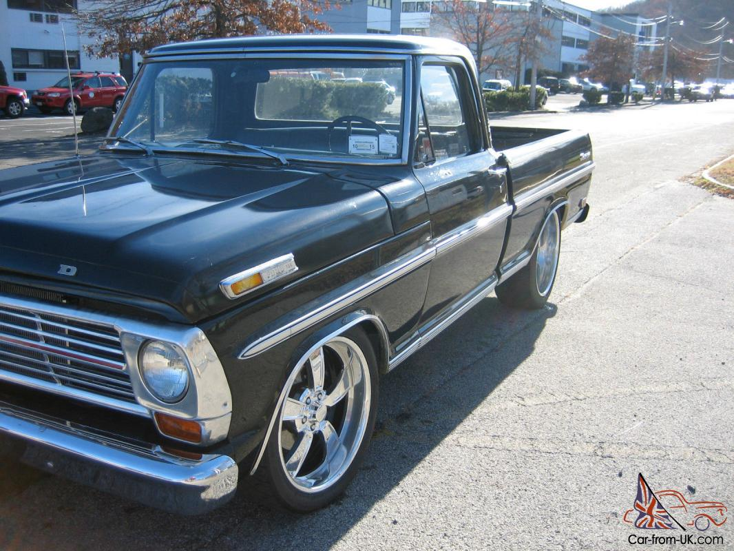 1968 Ford F100 Hot Rod Rat Rod Ranger Lowered