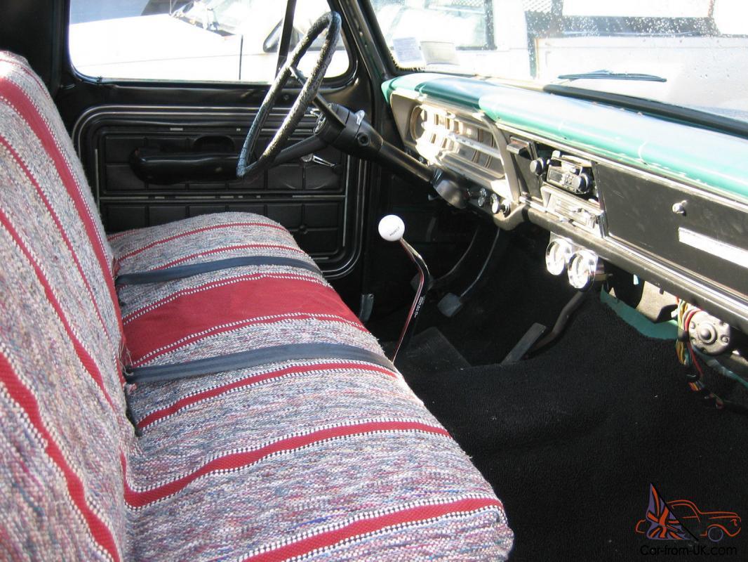 1968 Ford F100 hot rod rat rod Ranger lowered