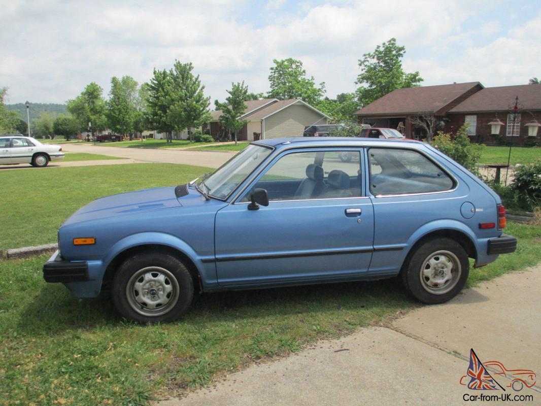 1981 Honda Civic 1500 2 door