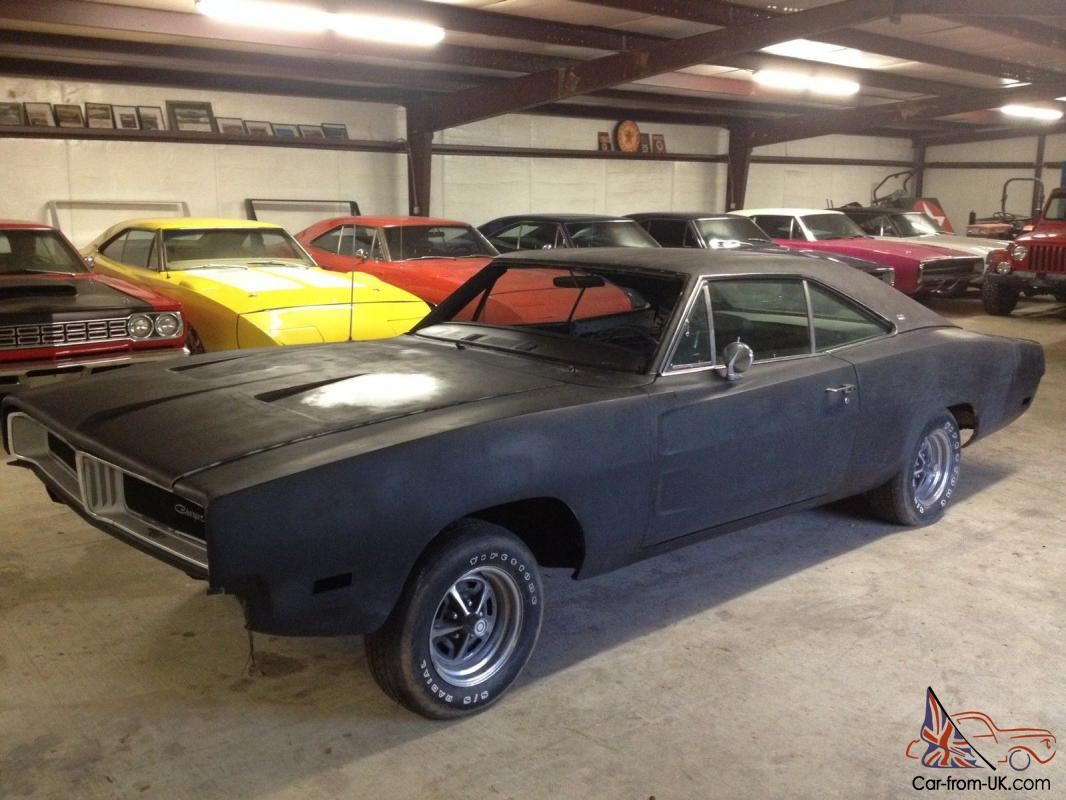 1969 Dodge Charger Rt Se All Numbers Matching 440 727 Auto Rust Free 1964 R T Rare 69 Nr