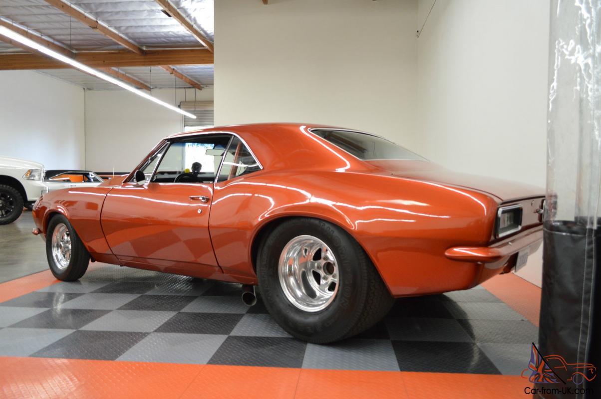 1967 Chevrolet Supercharged Pro Street Camaro