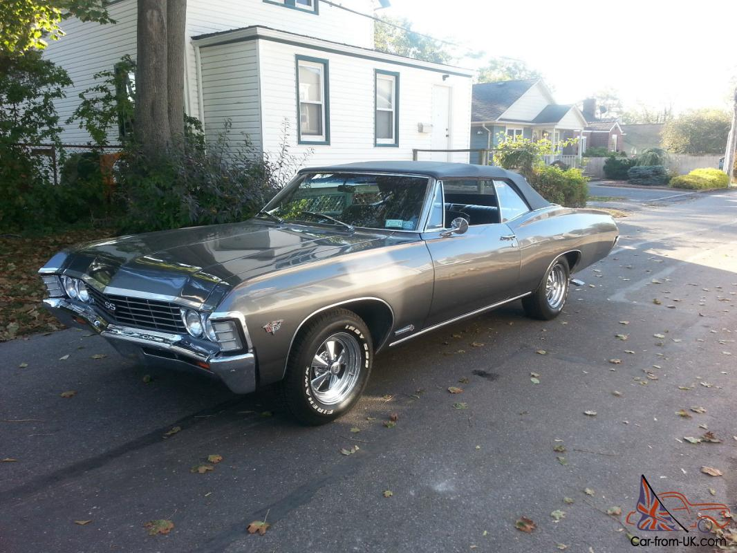 Convertible 1967 chevy impala convertible for sale : Chevy Impala SS Convertible 427