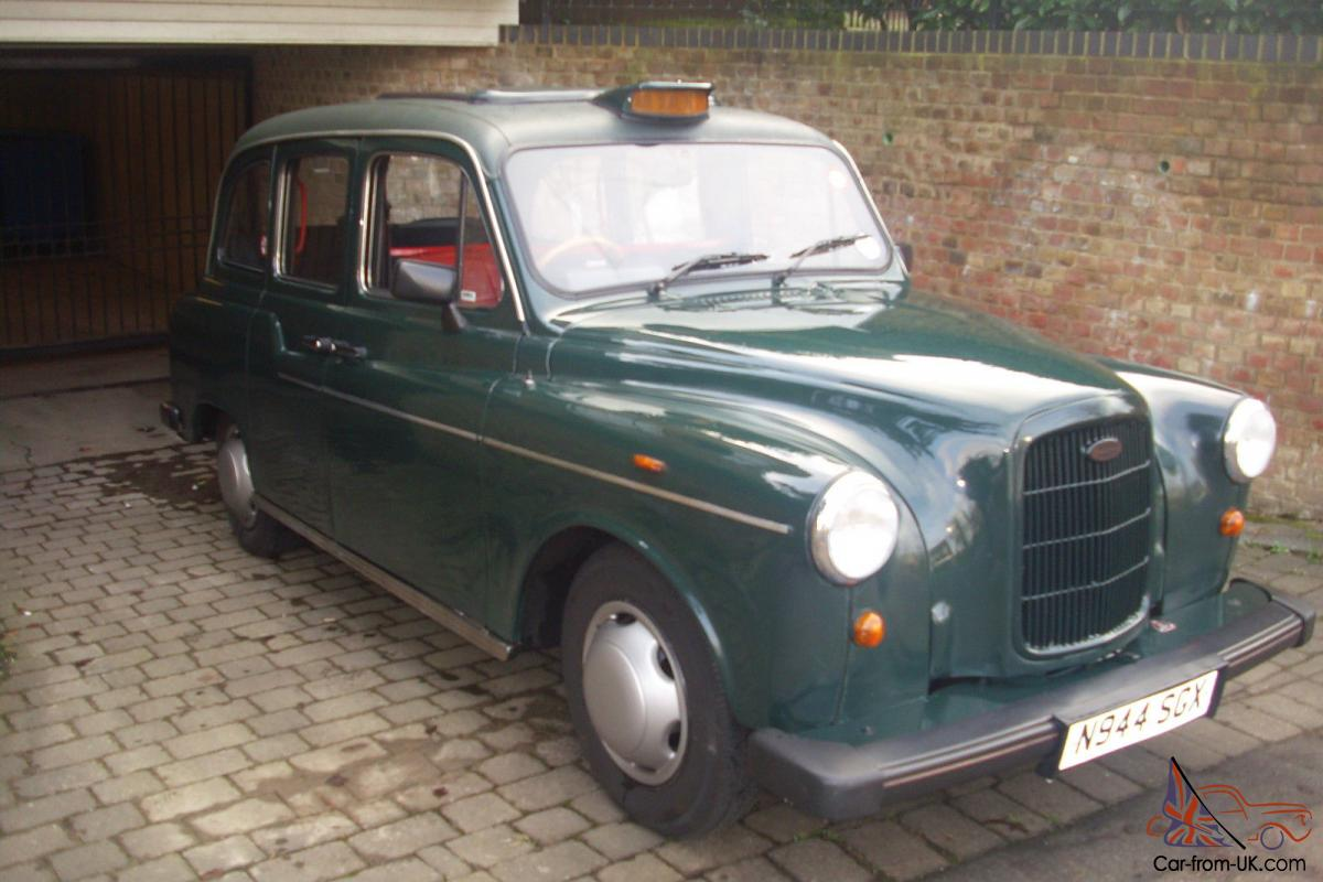 LIMITED EDITION ICONIC LONDON TAXI GREEN CAB LTI FAIRWAY EXCELLENT CONDITION