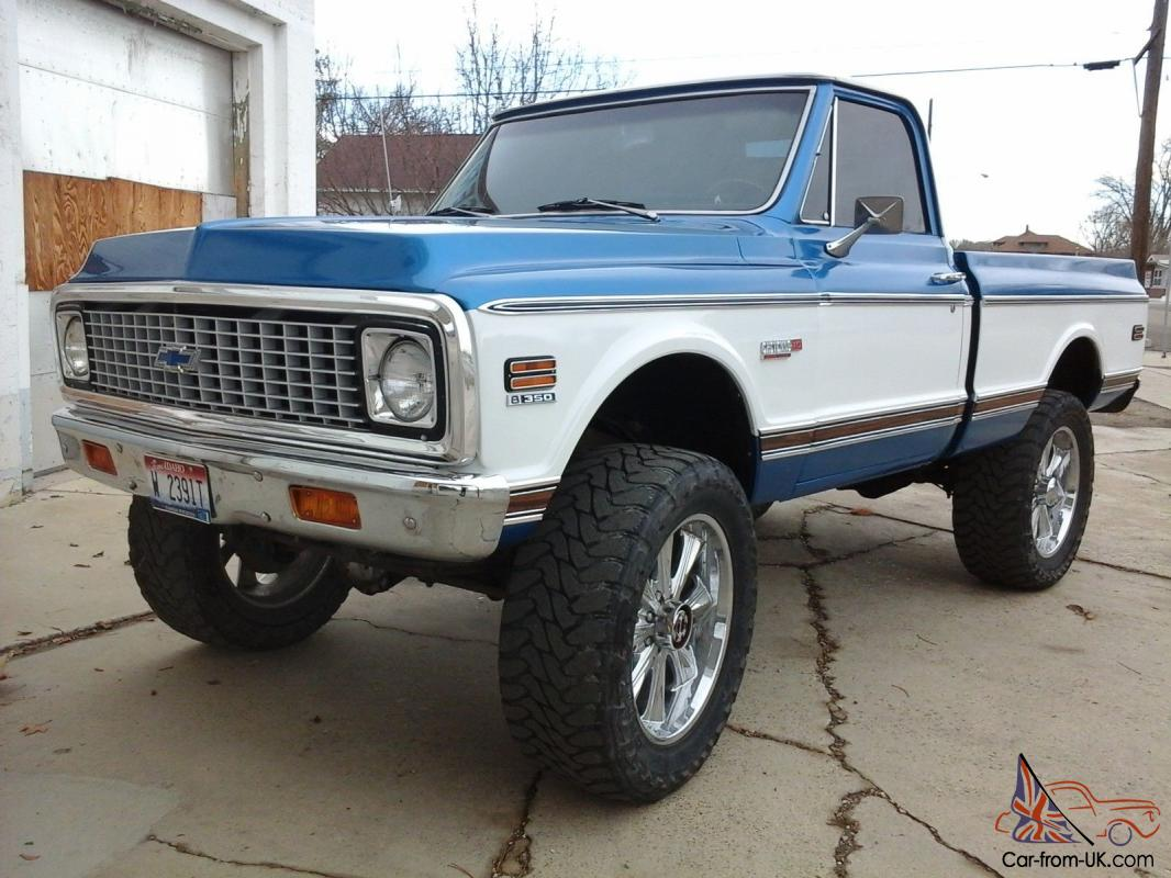 All Chevy 1969 chevy c10 for sale : Chevy Short Box K10 Cheyenne Chevrolet 67-72 Pickup Gmc 1972 1970 1969