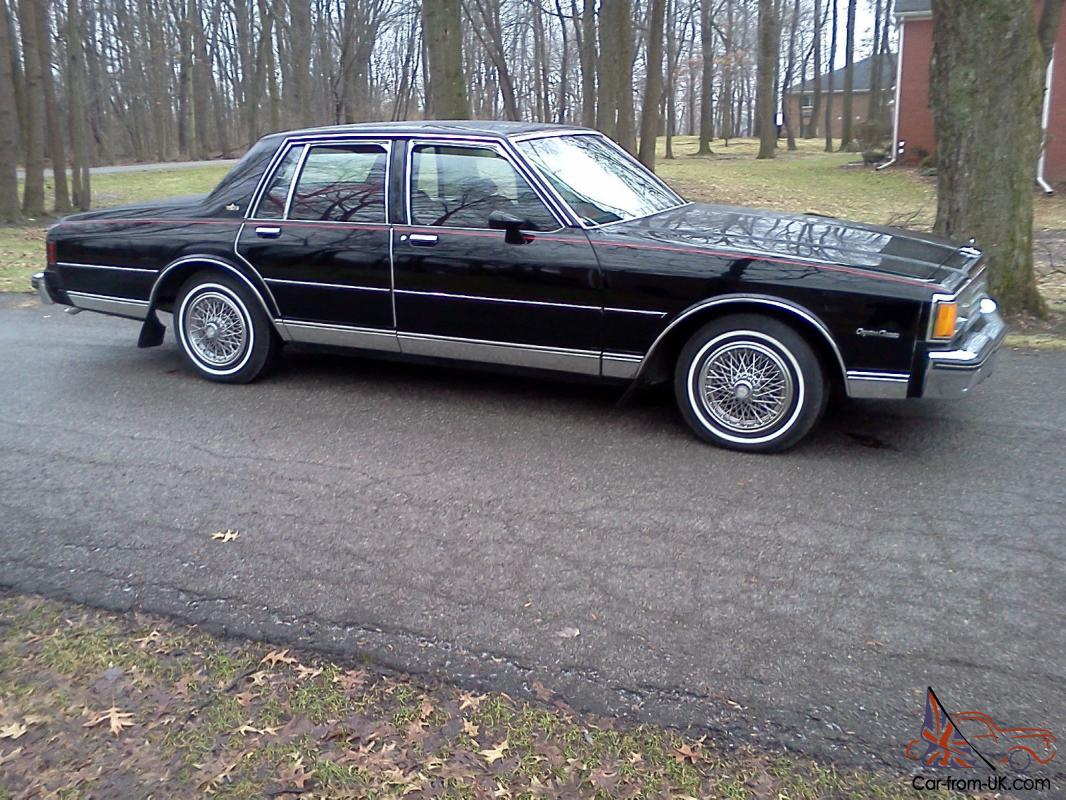 1984 chevrolet caprice classic sedan 4 door 5 0l 1984 chevrolet caprice classic sedan 4