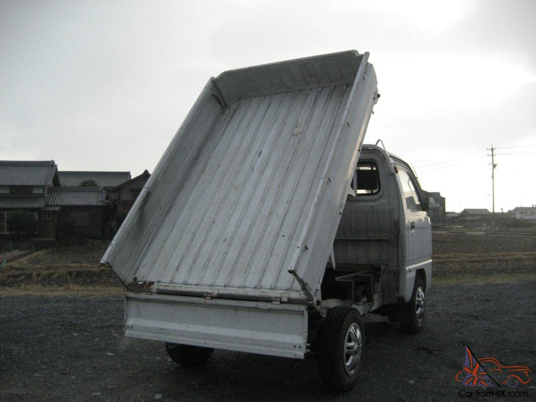Dump Bed Suzuki Carry 4x4 Japanese Mini Truck Off Road Farm Lance Hunting 40mpg