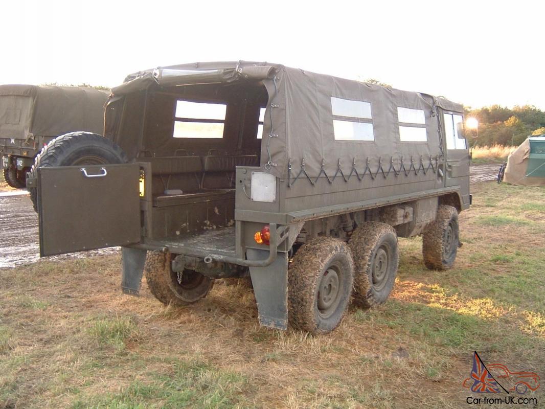 Pinzgauer 712M 6x6 Ex-Swiss Military LHD High Mobility Vehicle