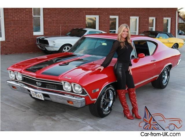 1968 Chevy Chevelle Ss 396 Automatic 12 Bolt Pdb Solid Ss Clone Great Driver