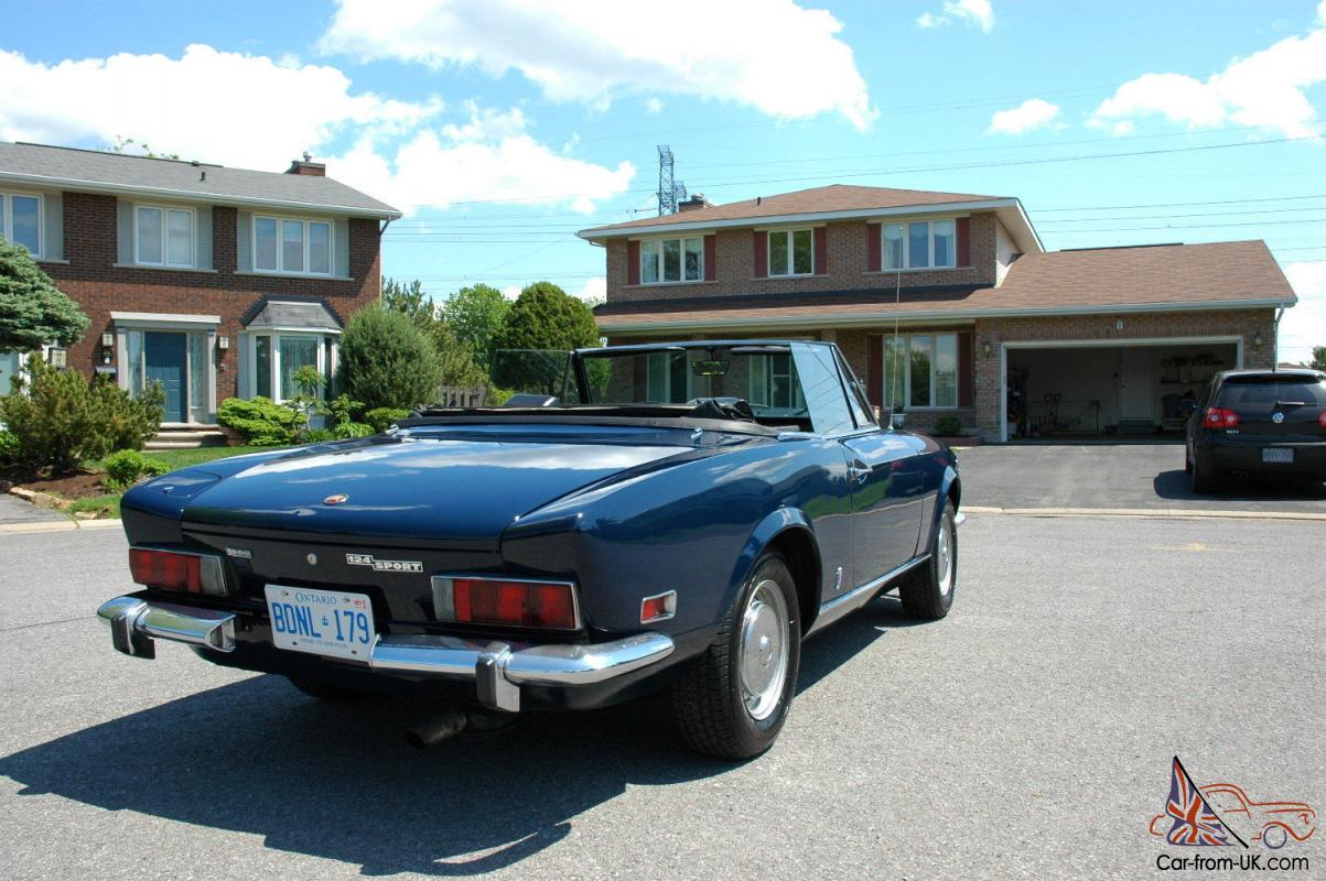 [CSDW_4250]   1974 Fiat 124 Spider Convertible GREAT SUMMER CAR! | Wiring 1975 Fiat 124 Spider |  | Car-from-UK.com