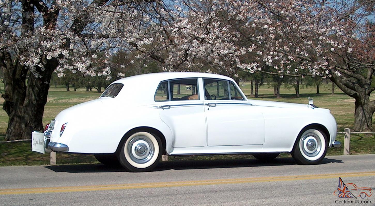 1958 Rolls Royce SIlver Cloud I COLD AIR