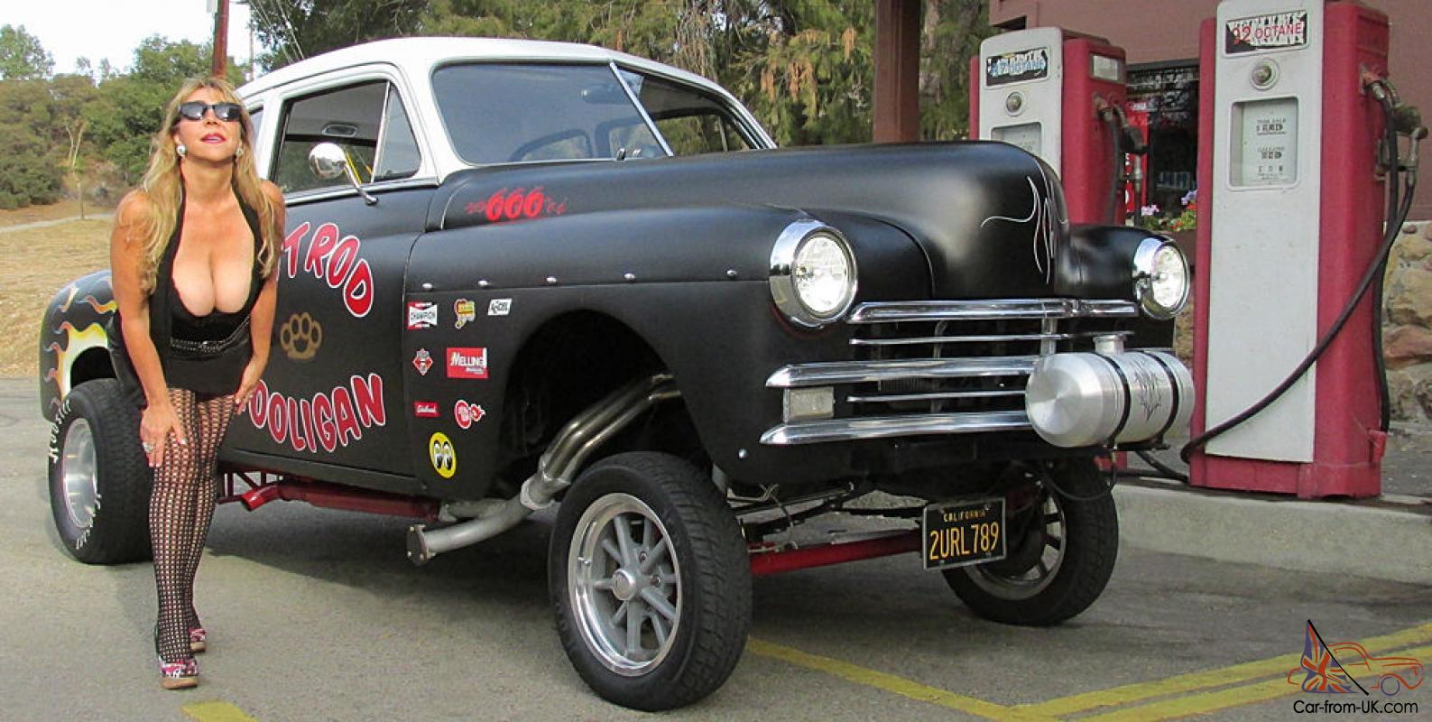 1949 Plymouth Special Deluxe 2 Door Hot Rat Rod Gasser