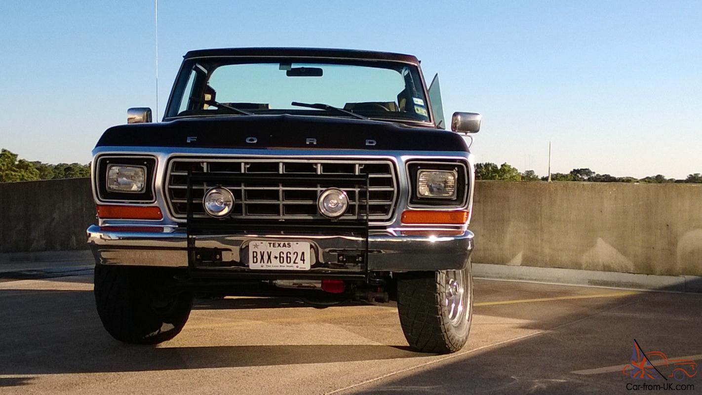 1979 Ford Bronco Ranger XLT Sport Utility 2-Door 5.8L