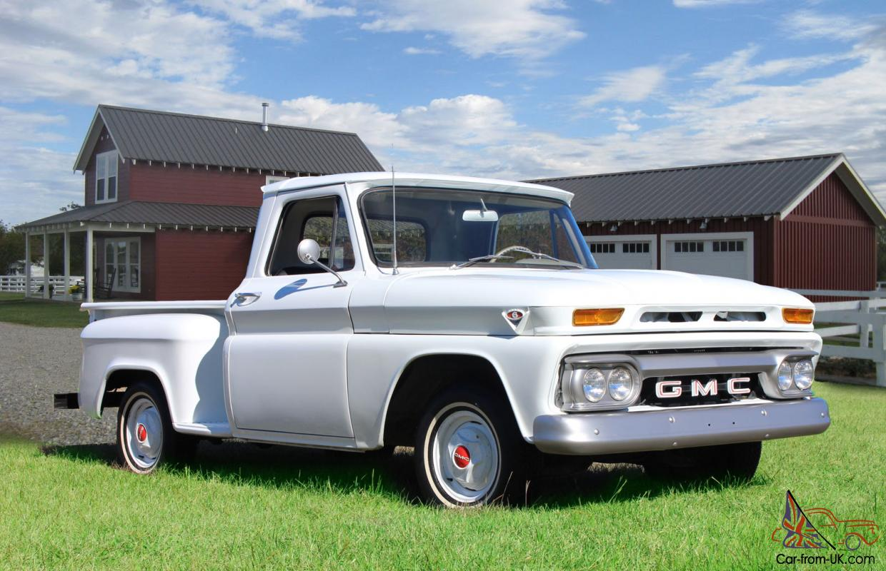 1966 Gmc One Family Owned 13k Actual Miles Short Wheelbase Stepside Garage Find