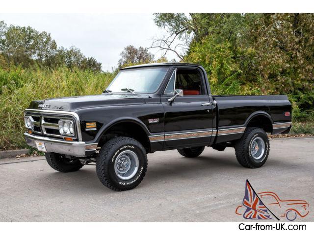 1972 Gmc Sierra 1500 4x4 Short Bed California Truck Correct