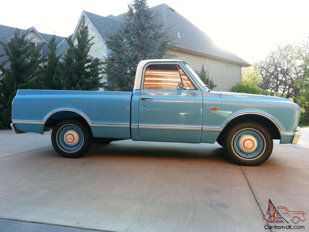 All Chevy 74 chevy short bed : Chevy Short Bed Restored Show Truck 1967