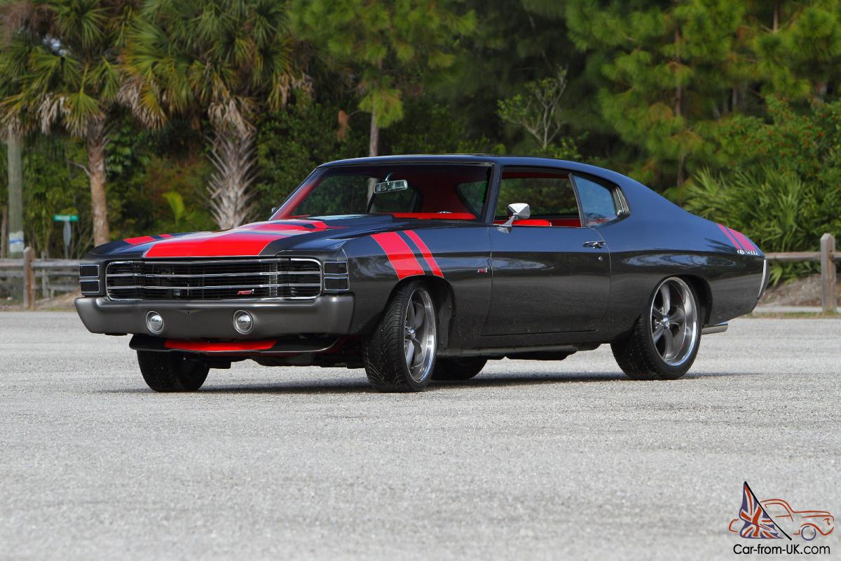 1972 Chevelle Rs Pro Touring Street Resto Rod Muscle Built To Order Show Perfect