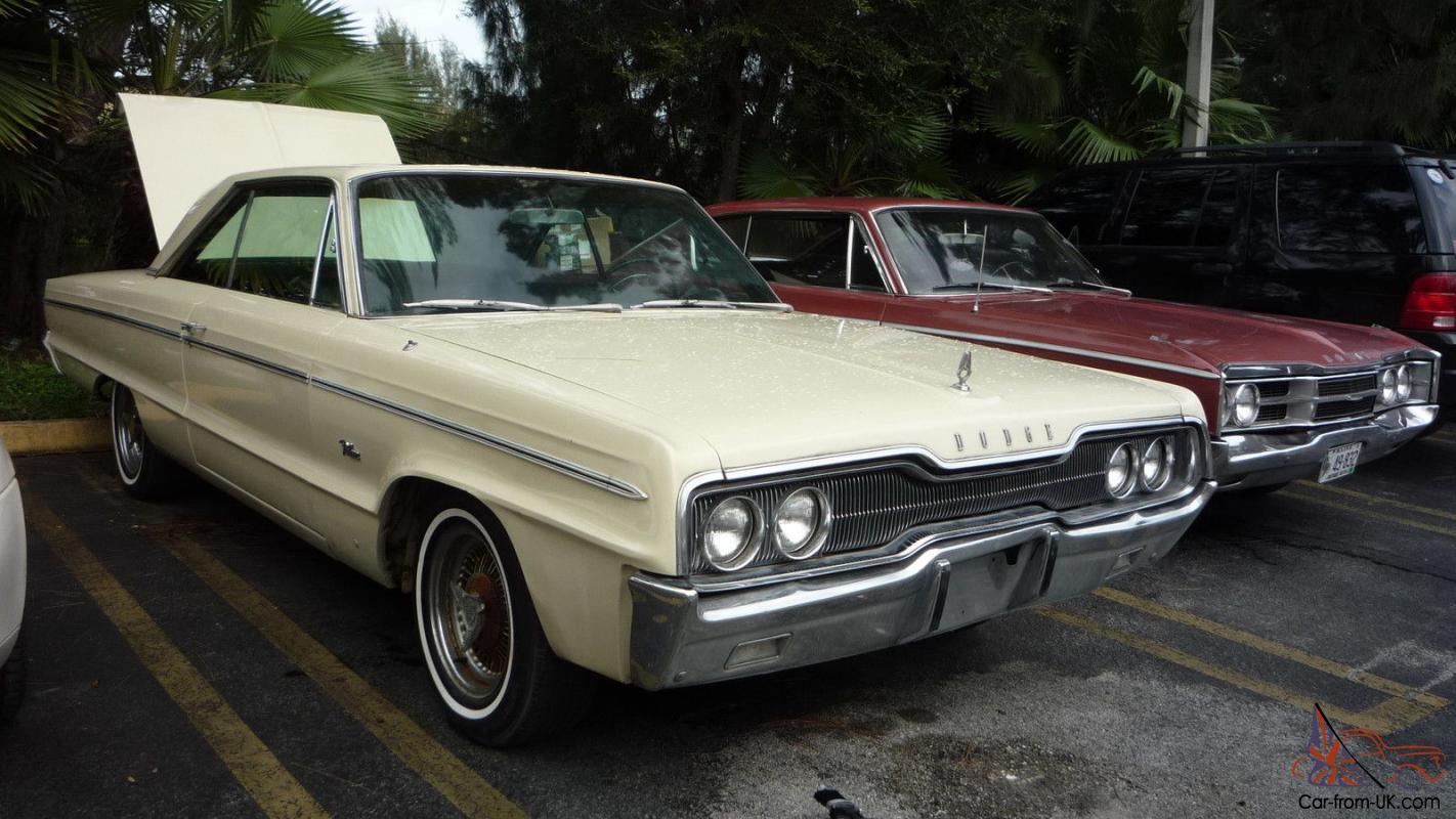 1966 Dodge Polara 2 Doors Classic Car