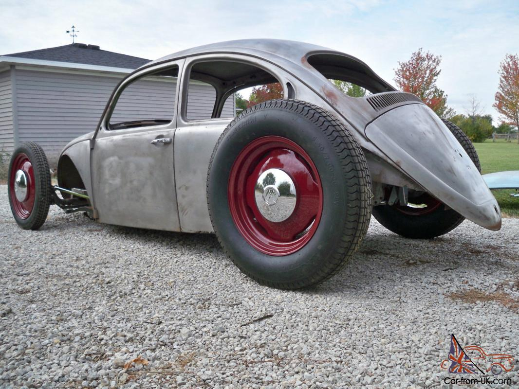 Hot Rod Volkswagon, Volvo engine,straight axle,street rod style,rat rod