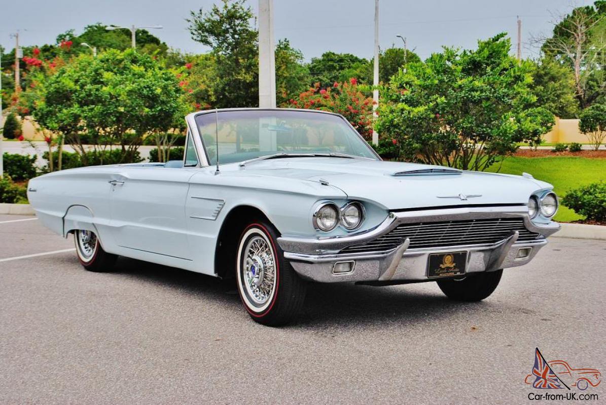 Simply Stunning 1965 Ford Thunderbird Convertible Restored