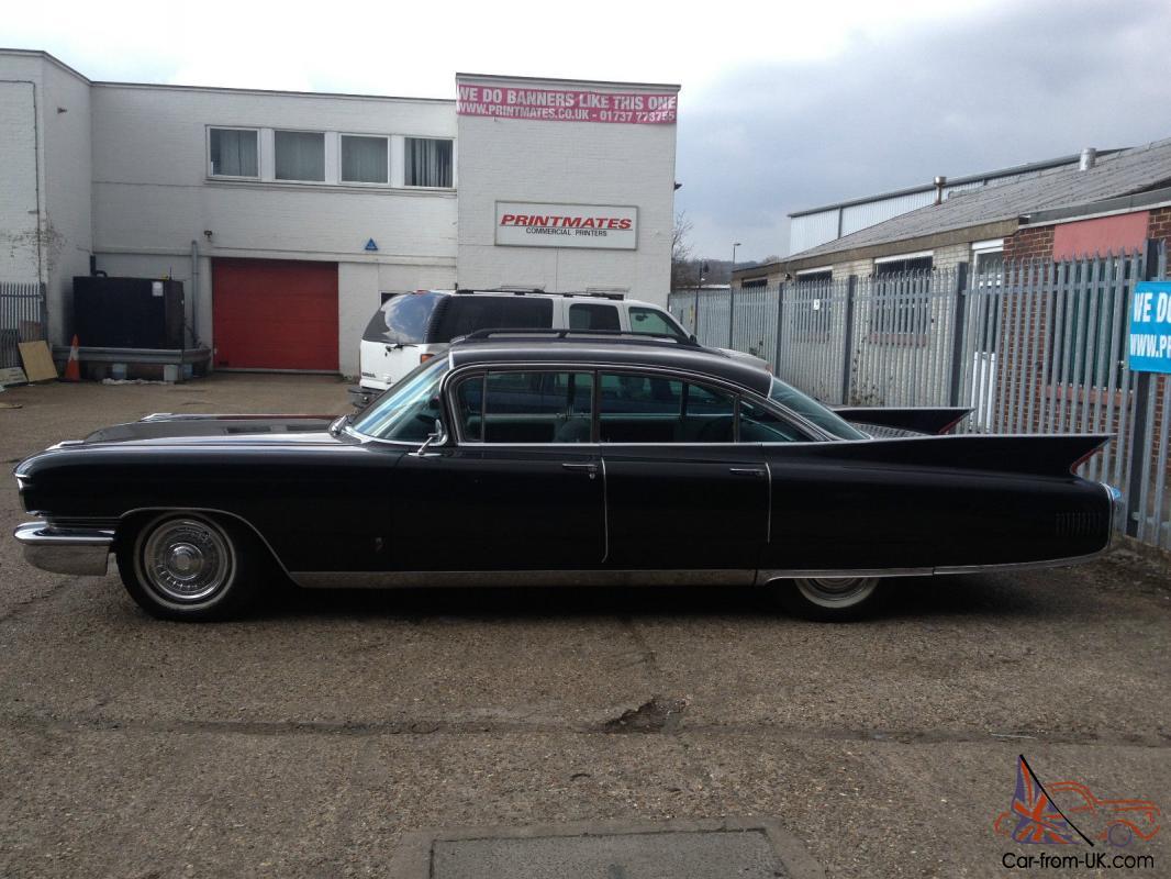 1960 CADILLAC FLEETWOOD V8 very original