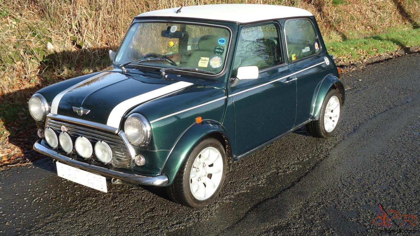 Mini Cooper Sport Pack 1999 T Reg British Racing Green