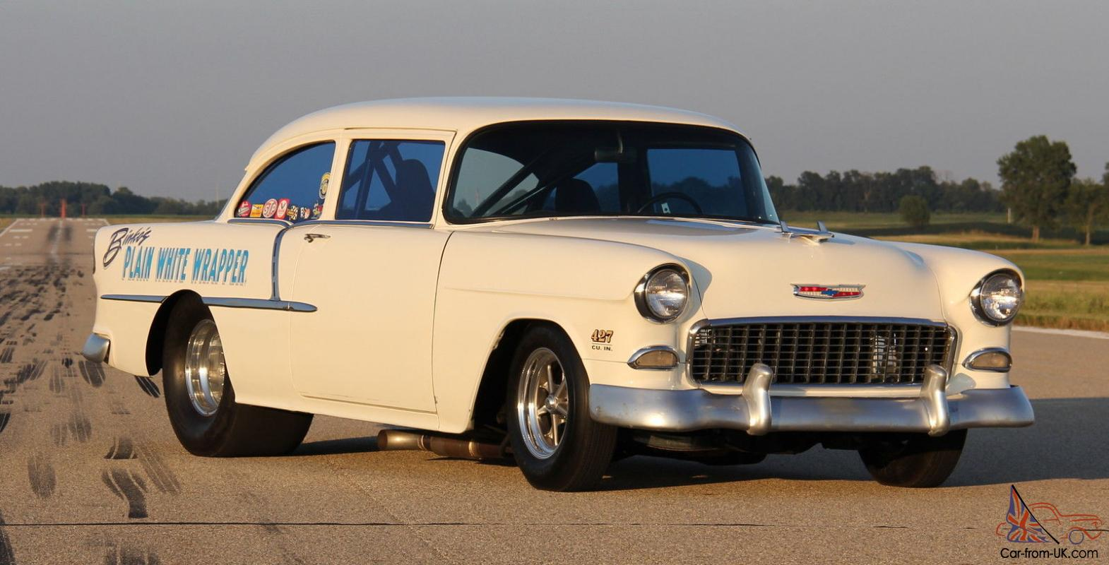 1955 CHEVY Drag, Pro Street California Car Titled 427 BBC 4 Speed Hot Rod  Gasser